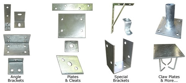 Scott Metals - Products: Brackets, Plates, Nuts & Bolts