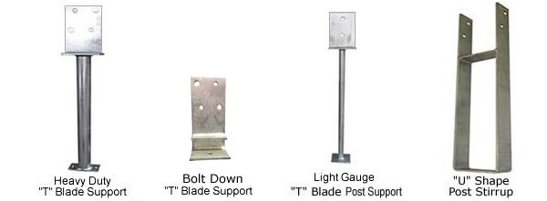 Scott Metals Products Post Stirrups Steel Supplies