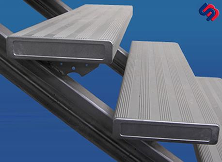 Scott Metals Products Aluminium Step Treads Steel